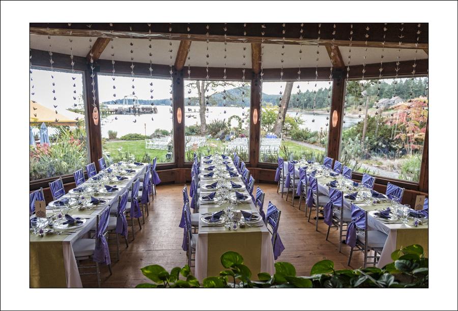 Galiano Inn wedding photo of K&M 1