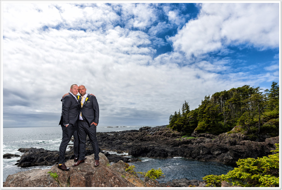 Gay wedding Ucluelet