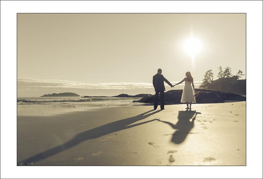 Chesterman beach wedding photo J&P 1