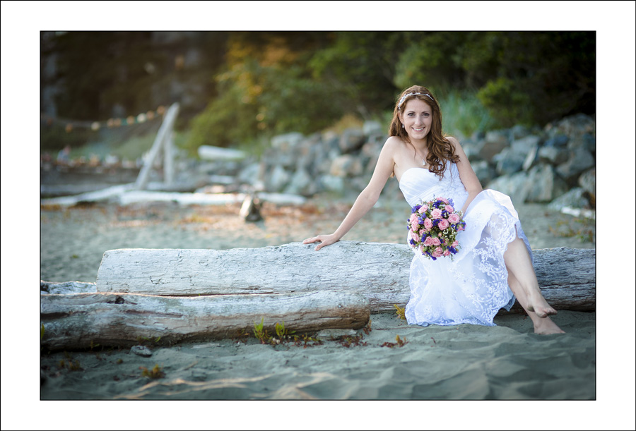 Chesterman beach wedding photo J&P 2