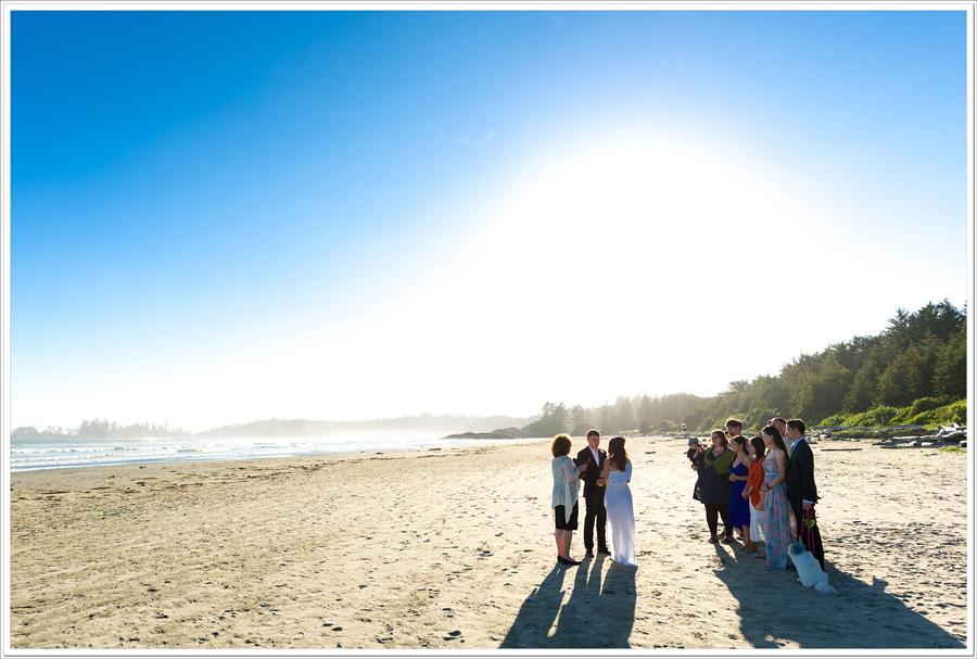 Long Beach tofino wedding