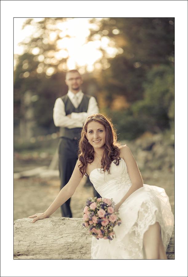 Chesterman beach wedding photo J&P 3