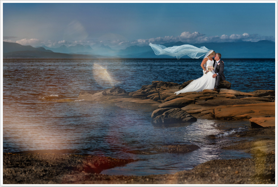 Fantasy wedding photo parksville