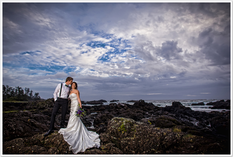 Big Beach wedding photo