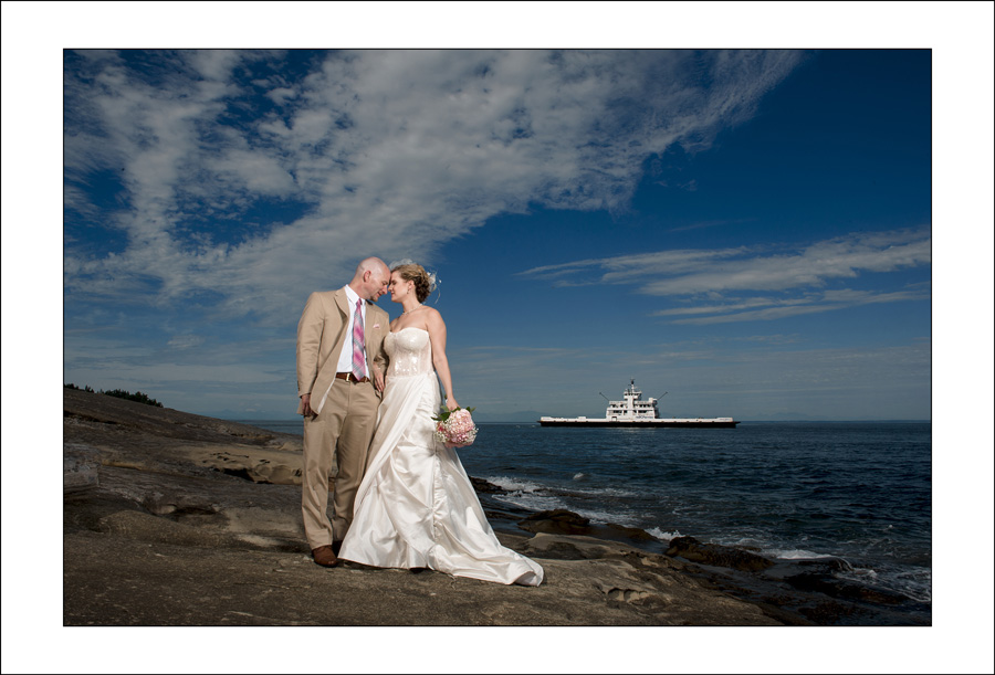 Galiano Island Wedding photo D&J 1