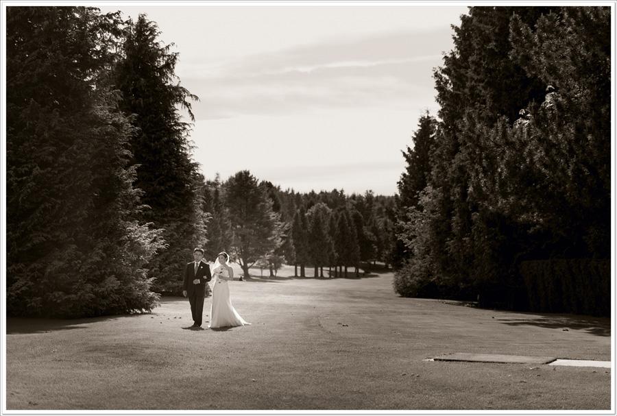 Qualicum Beach Golf course wedding 1