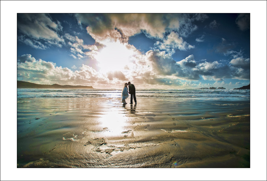 Tofino long beach lodge wedding photo C&J 1