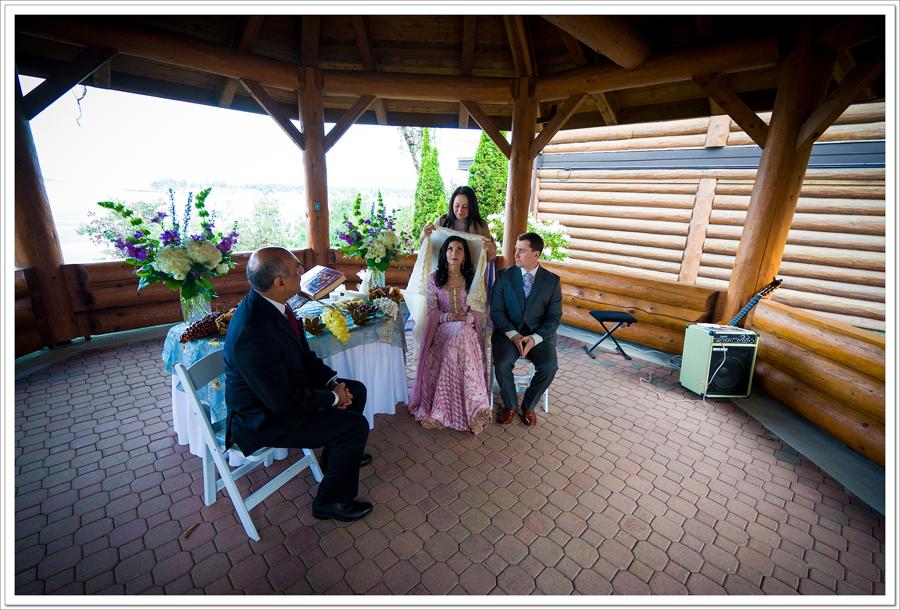 Tigh Na Mara wedding gazebo