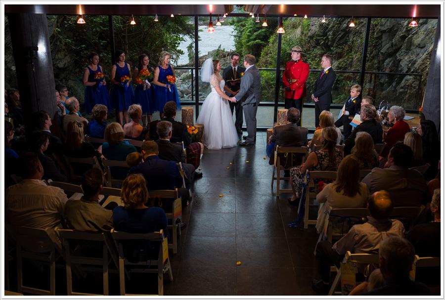 Black Rock Wine Cellar wedding ceremony
