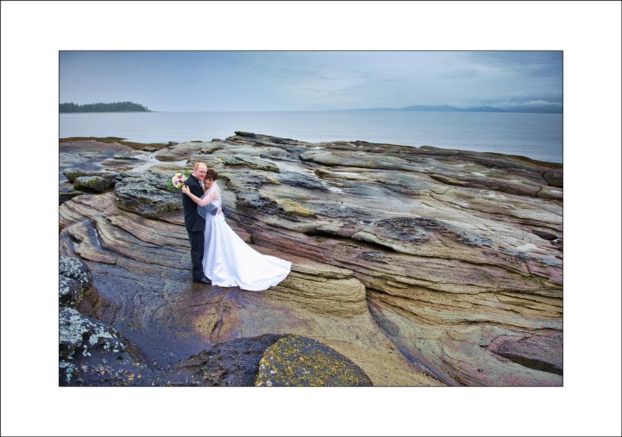 Qualicum Beach wedding photo js1