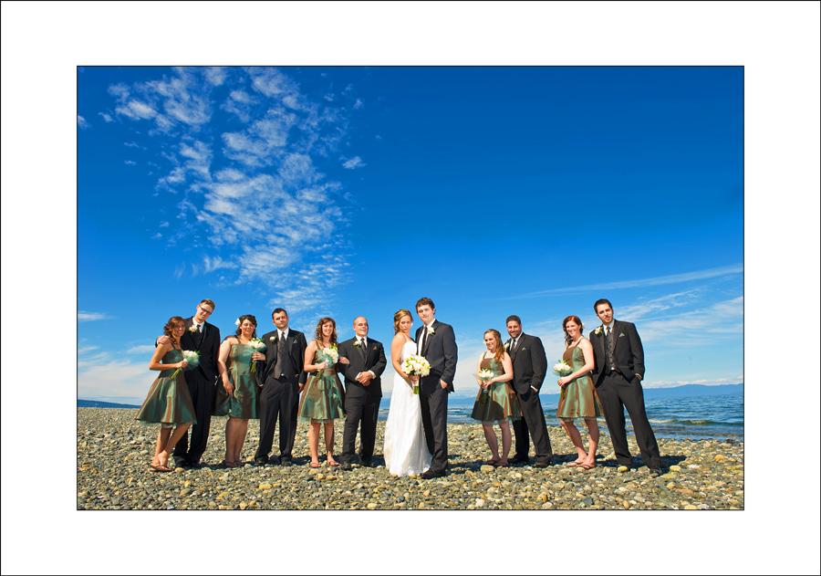 Qualicum wedding photos