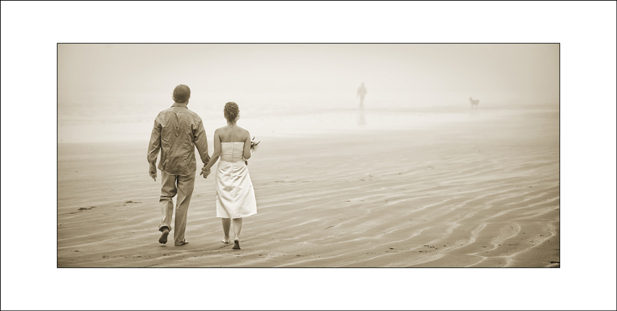 Tofino wedding photo
