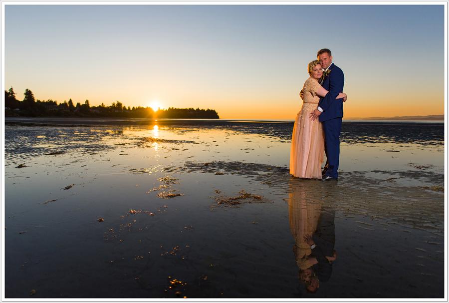 Beach club resort wedding parksville 1