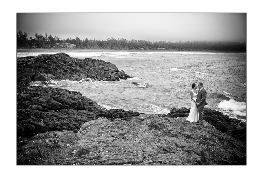 Long Beach Lodge Tofno wedding photo D&S 1