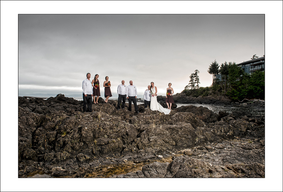 Black Rock Ucluelet wedding photo K&A 1