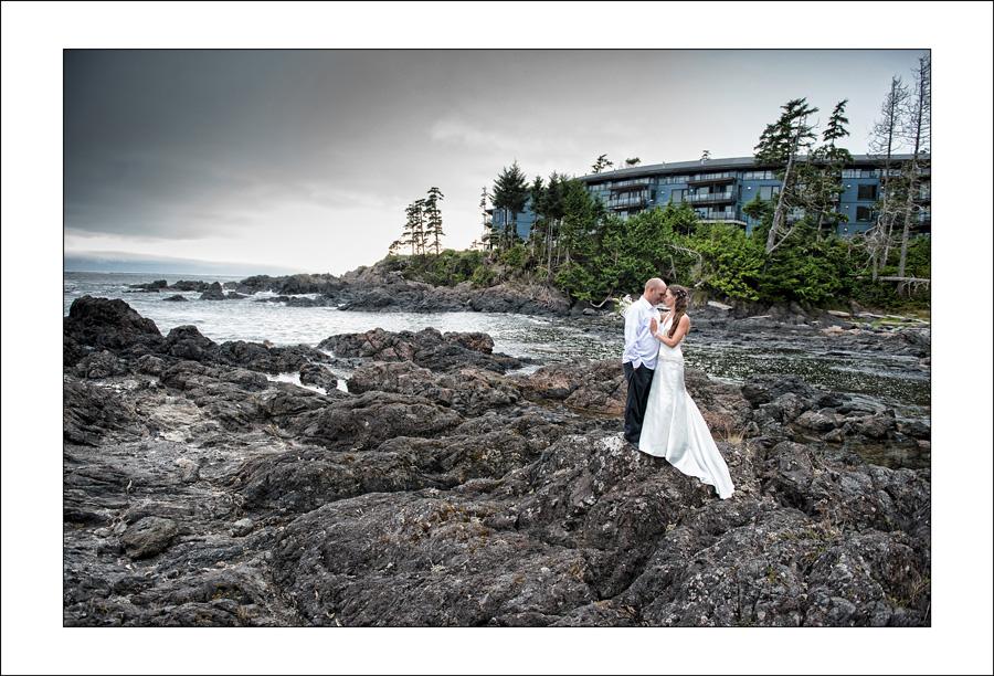 Black Rock Ucluelet wedding photo K&A 1
