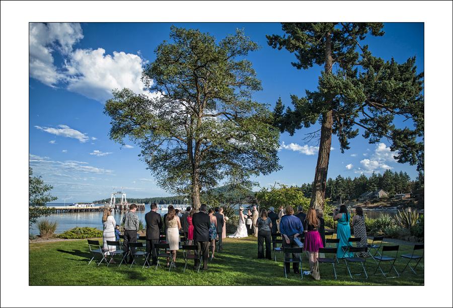 Galiano Island Wedding photo D&J 2