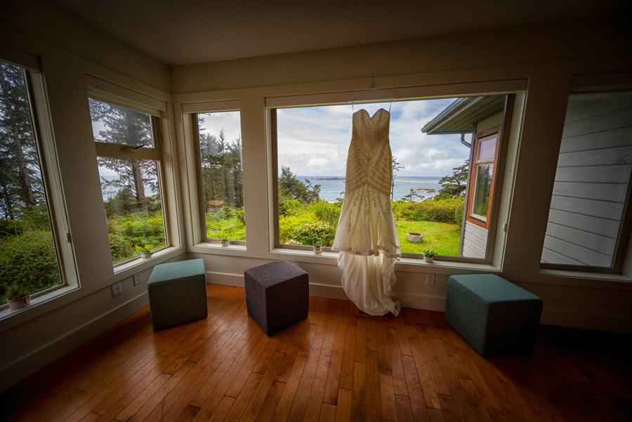 Pacific Sands guest house wedding