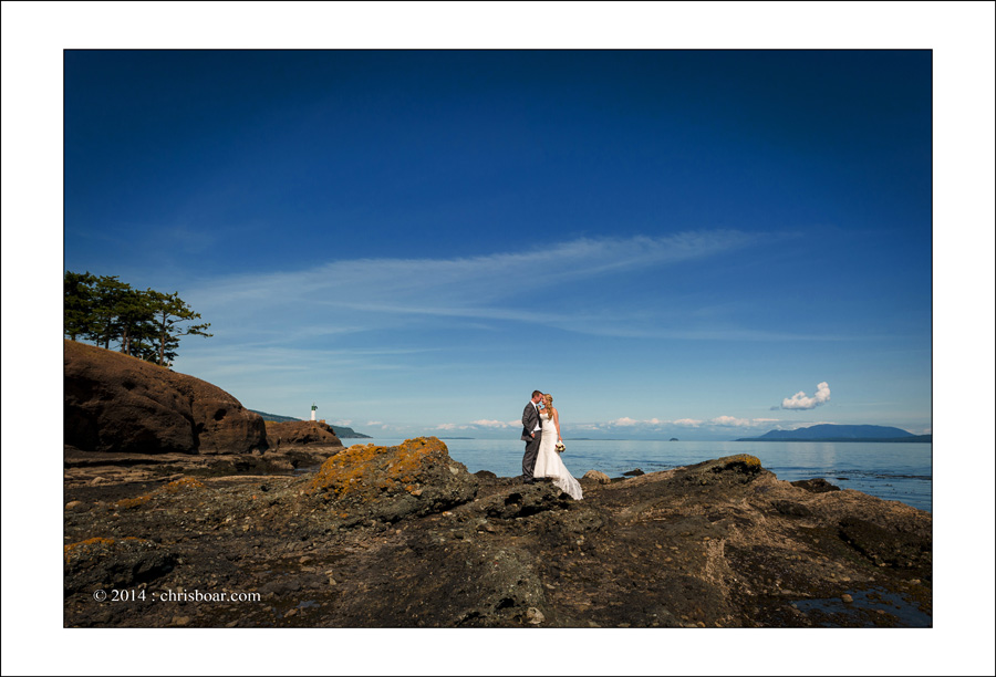 Poets Cove wedding photo A&C 1