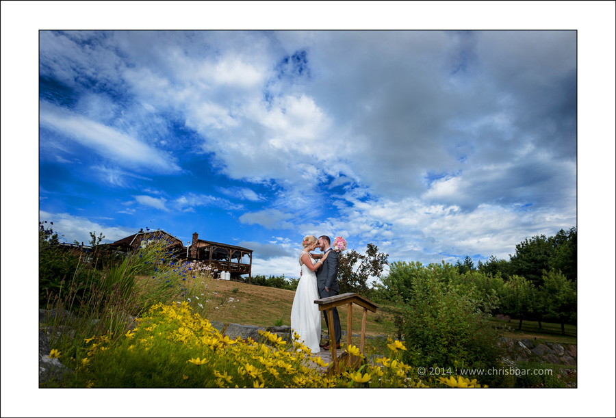 Merridale Ciderworks wedding photo A&D 1