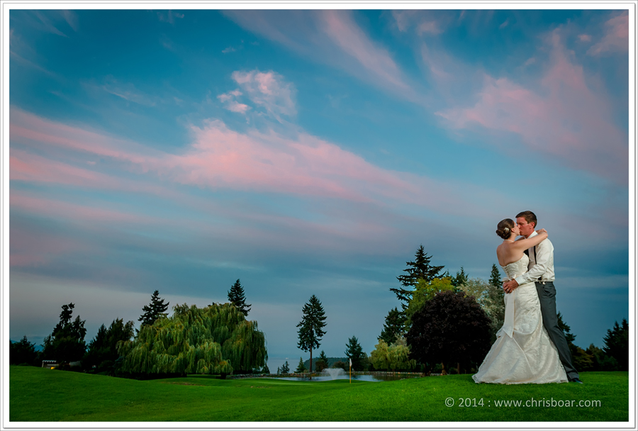 Nanaimo Golf Course wedding photo 1