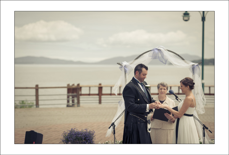 Ladysmith Transfer Beach wedding B&S 1
