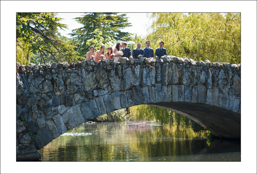 Victoria beacon hill park wedding photo A&D 1