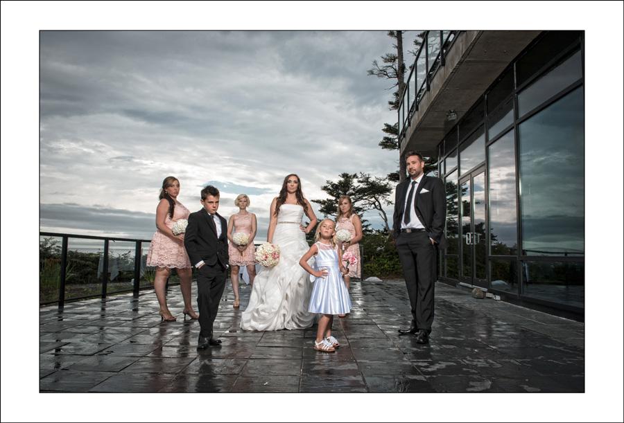 Black Rock Resort wedding photo C&M 1
