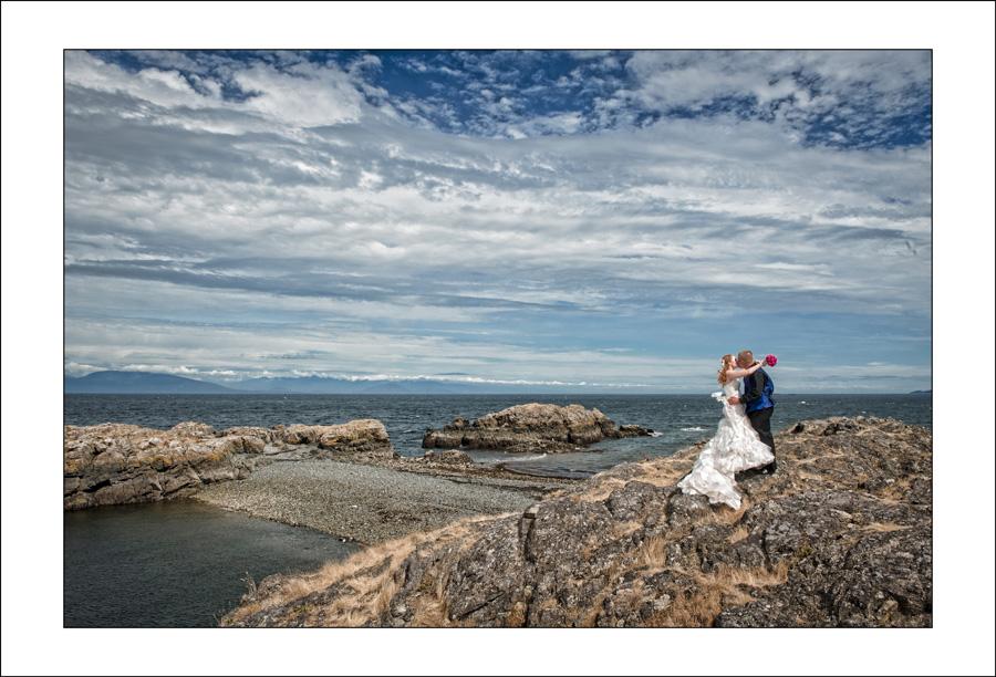 Nanaimo Neck Point wedding photo S&E 2
