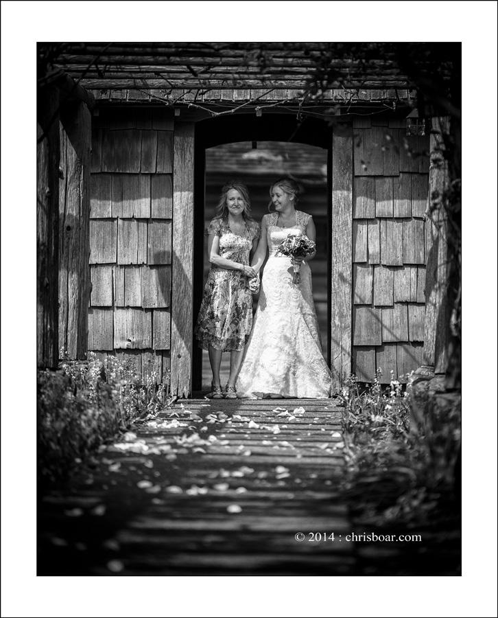 Comox Filberg Park wedding photo A&J 2
