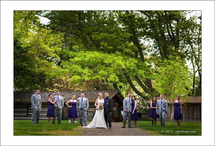 Comox Filberg Park wedding photo A&J 1