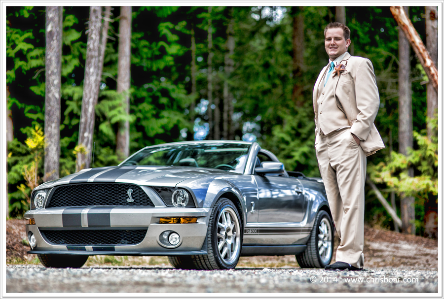 Mustang-GT500-Groom-wedding