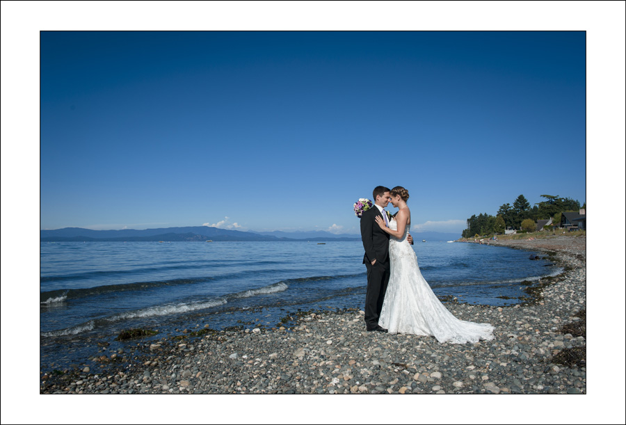 Qualicum Beach wedding photo K&L 1
