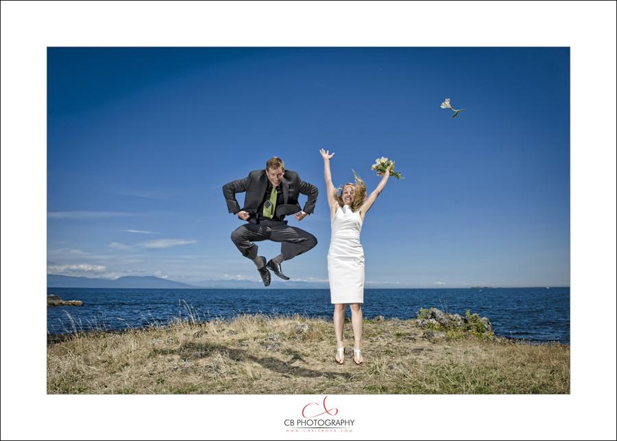 Nanaimo Neck Point wedding photo A&G1