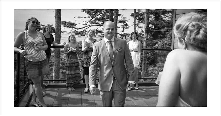 Ucluelet Black Rock Wedding photos L&S 1