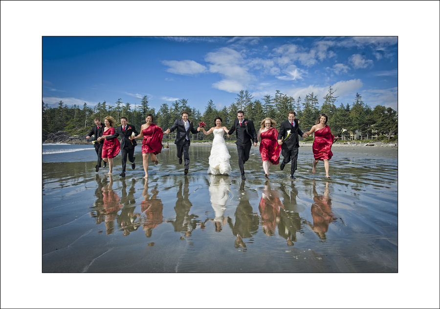 Tofino Long beach wedding photo Renne & Brian 1
