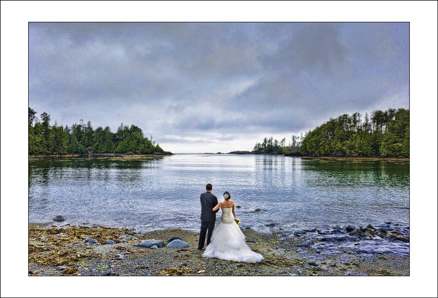 Terrace beach wedding photo 1