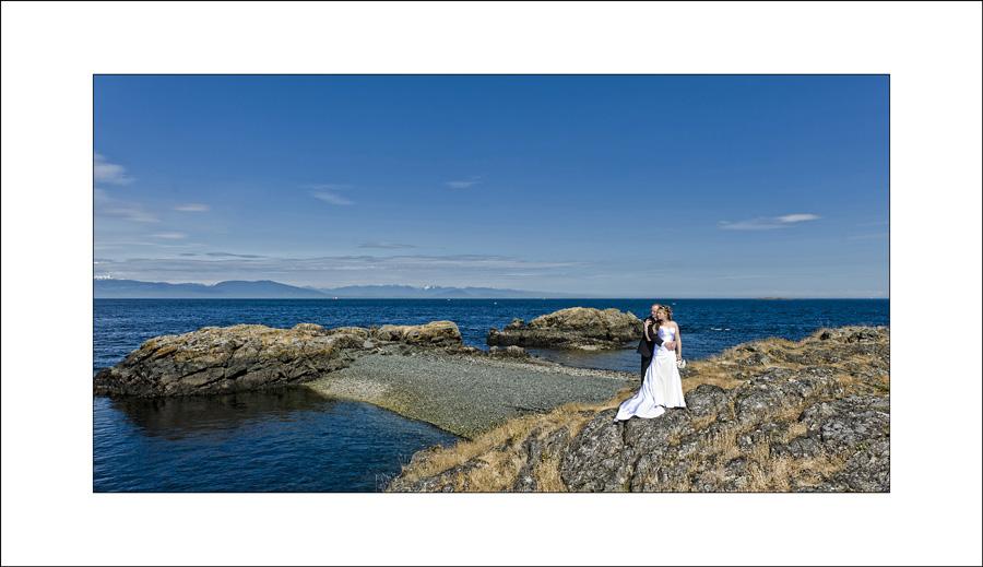 Nanaimo Neck Point wedding photo A&E1