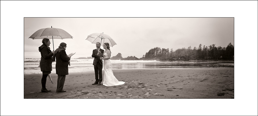 Tofino Long Beach Lodge wedding photo