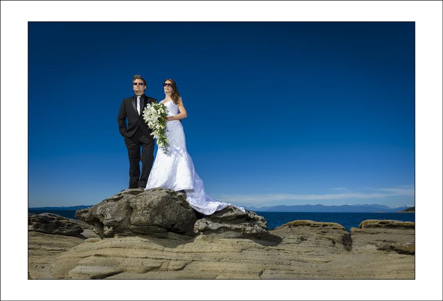Parksville Tigh Na Mara wedding photo of K&N 1