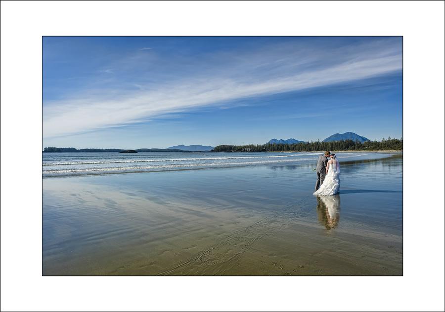 Tofino wedding photo Chesterman Beach 1