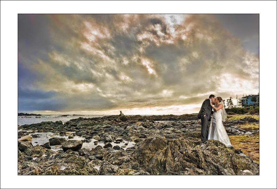 Ucluelet Black Rock wedding photo J&R 1