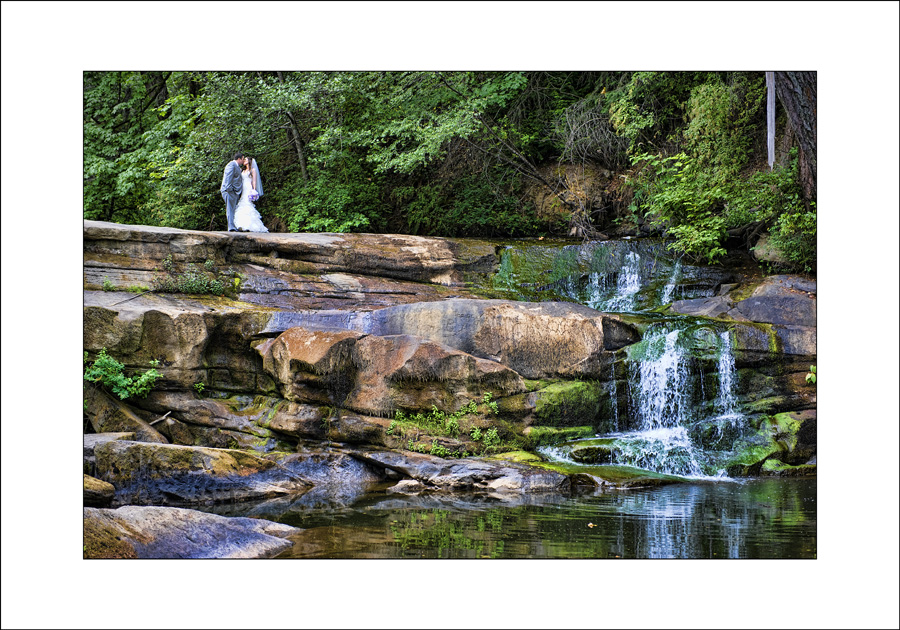 Nanaimo Bowen Park wedding photograph