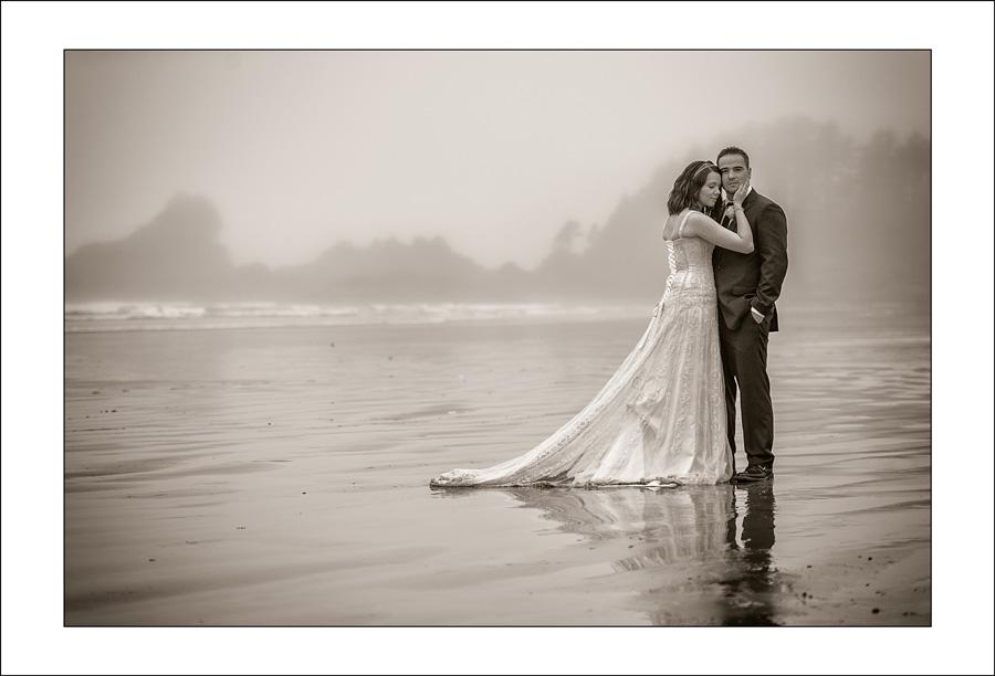 Tofino Long Beach lodge wedding photo A&B 1