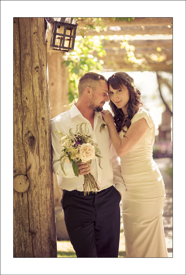 Comox Filber Park wedding photo of K&C 1