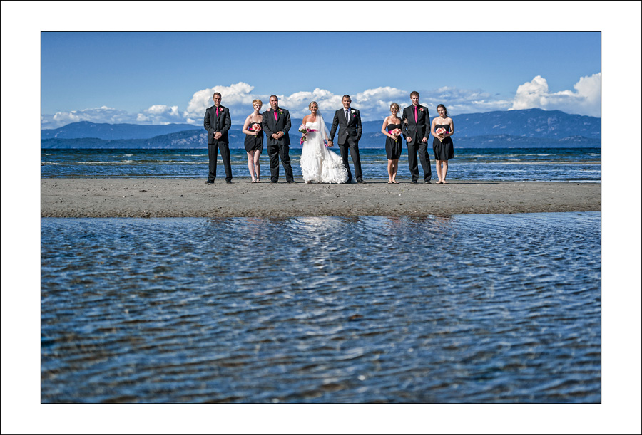 Parksville Beach CLub wedding photos V&B 5