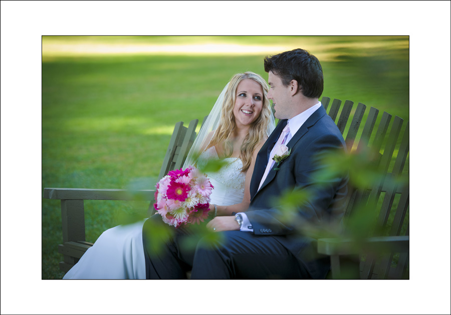 Milner gardens Wedding photograph