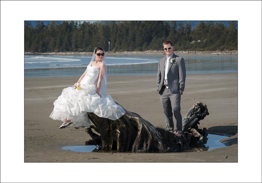 Tofino wedding photo Chesterman Beach 2