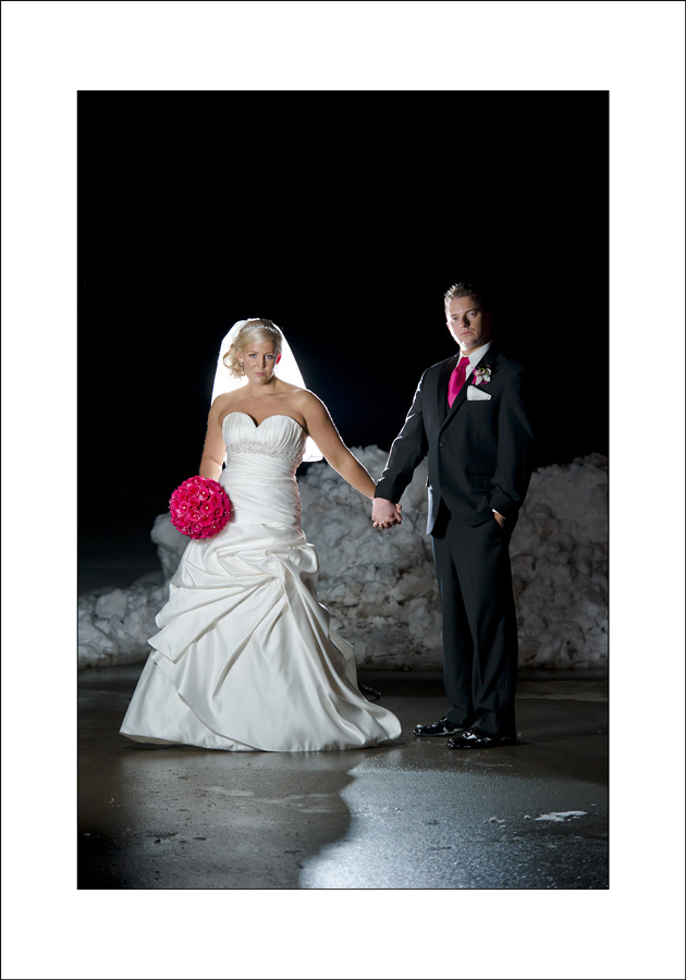 Cottonwood Golf club wedding photo