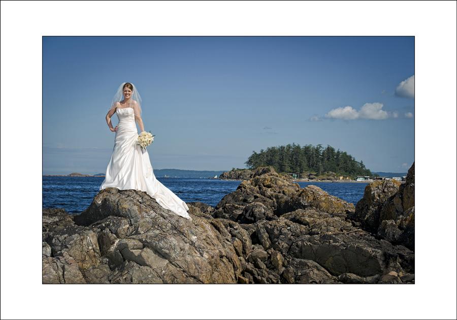 Neck Point wedding photo